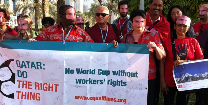 Qatar World Cup Workers' Standards: no legal enforcement, no worker rights (ITUC)