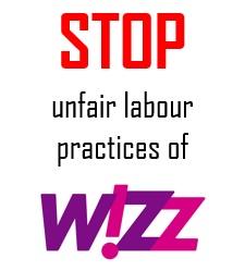 Stop the unfair labour practices of W!zz