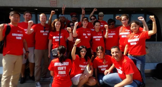 ITF young workers support AFA global action day