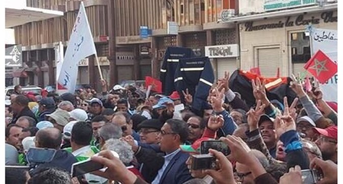 Arab World aviation unions back Morocco workers' protest