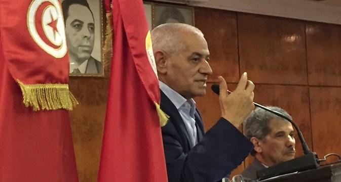 Tunis: Nobel prizewinner Houcine Abbassi encourages ITF trade unionists