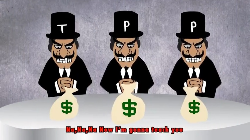 Video: TPP = Corporate Power Tool of the 1%