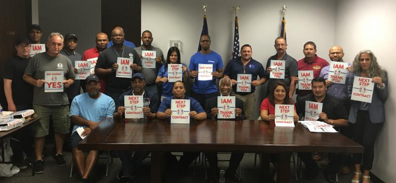 SM Cargo agents vote yes for IAM representation (goiam.org)
