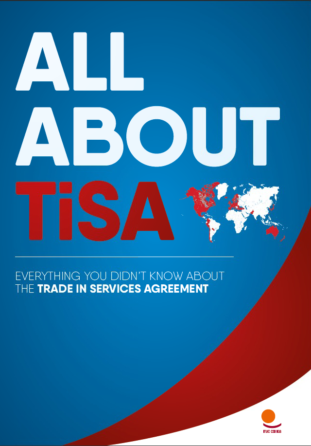 A new resource for unions to fight TiSA