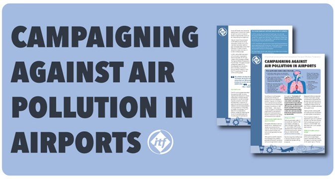 Factsheet to help protect airport workers from air pollution