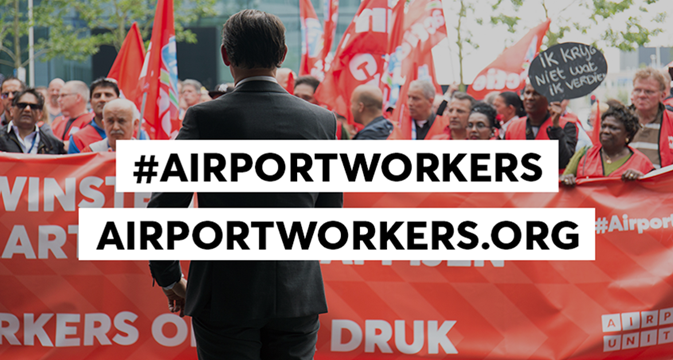 ITF launches new resource for world's airport workers