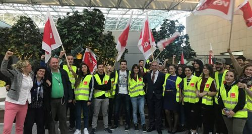ITF and ETF condemn Ryanair's attempts to obstruct strike action