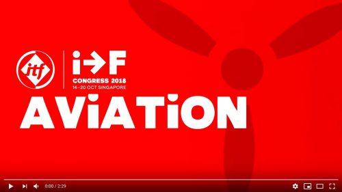 ITF Civil Aviation Section 2018 Congress film