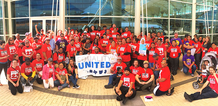 United Airlines kitchen workers vote YES to unionization (UNITE HERE)