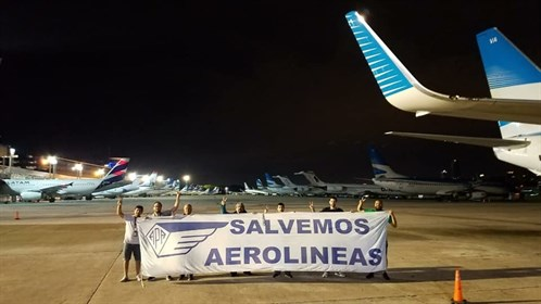 ITF backs airline workers action in Argentina