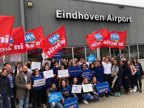New victory for Ryanair workers as labour authority rules on Eindhoven base closure