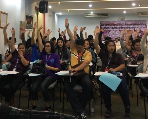 Thai union takes big step to building aviation workers' power