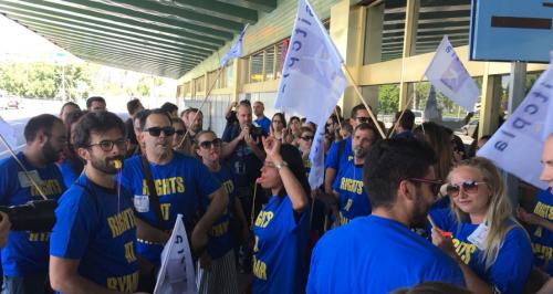 Unions call foul play on Ryanair's threatened job cuts