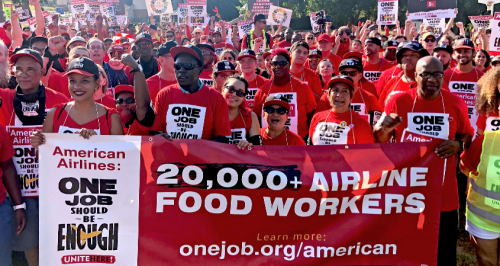 Lufthansa to profit from LSG Sky Chefs sale while its US workers protest poverty wages