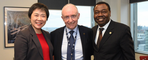 ITF congratulates new ICAO Council president