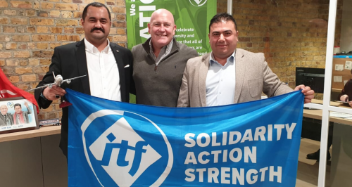 ITF welcomes back Turkish union Hava-Is