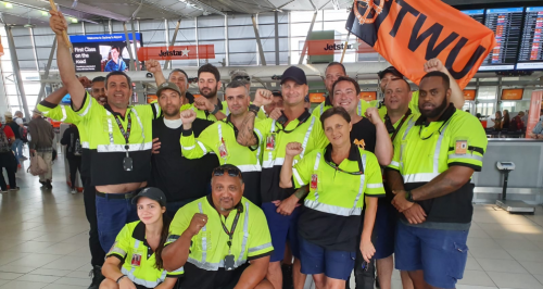 ITF supports striking Jetstar workers