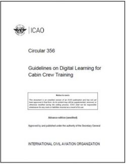 ITF welcomes the new ICAO guidelines on digital learning for cabin crew training