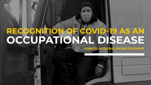 Recognition of COVID-19 as an occupational disease