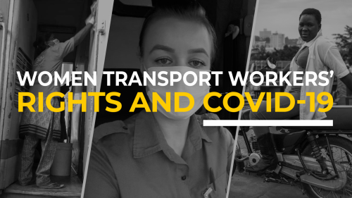 Women transport workers' rights and COVID-19