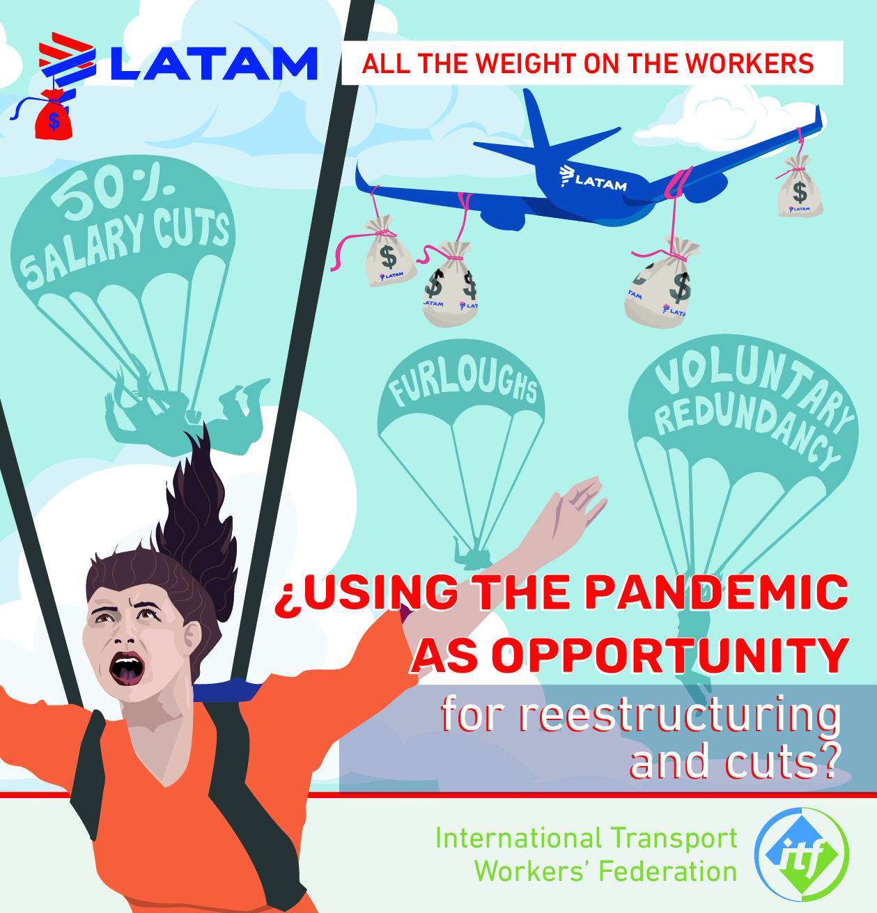 #LATAM why are workers shouldering the full weight of the #COVID-19 crisis?