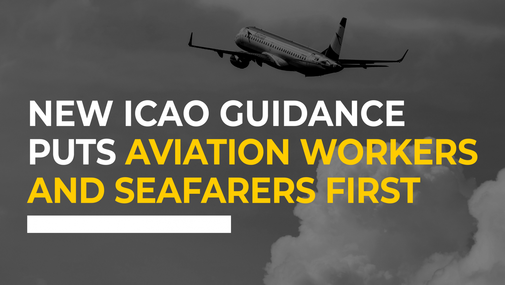ITF Civil Aviation ensures new ICAO guidance puts aviation workers and seafarers first