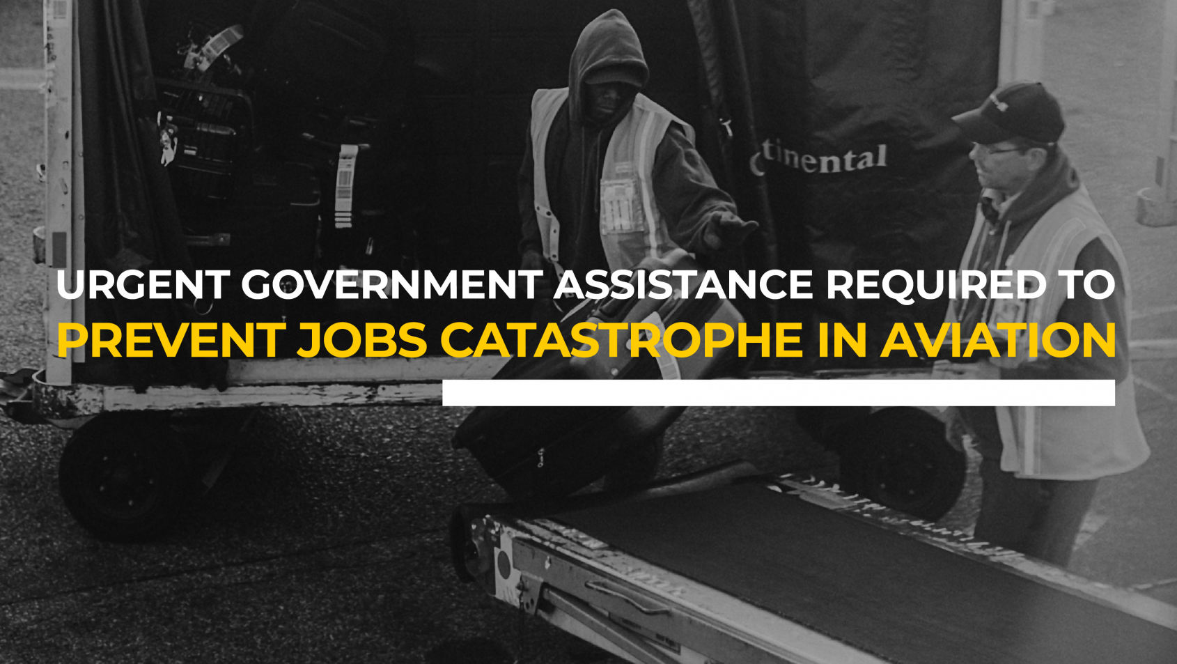 Airlines and air transport workers call for urgent government assistance to prevent jobs catastrophe