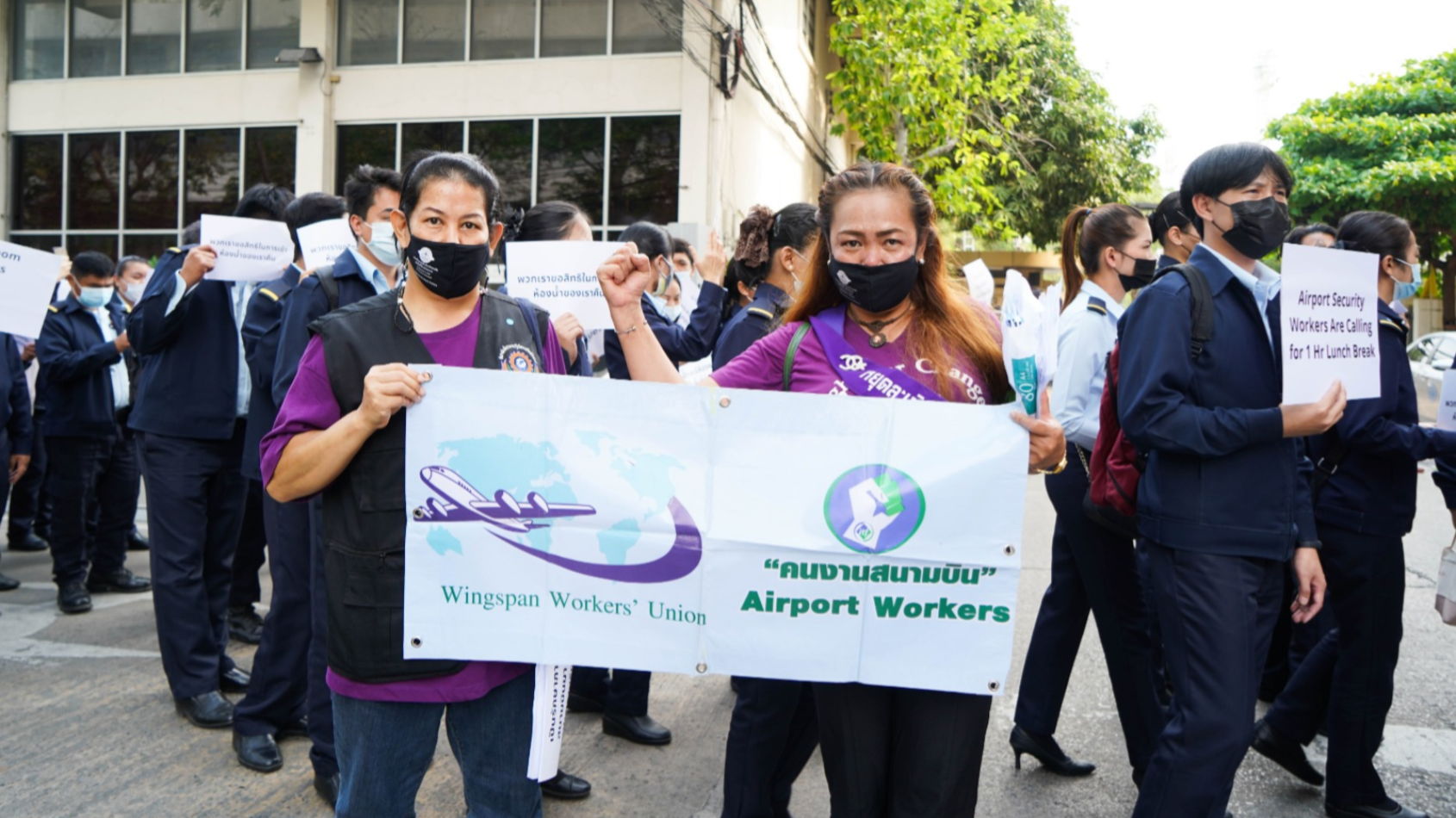 Bangkok's airport workers still waiting on rights
