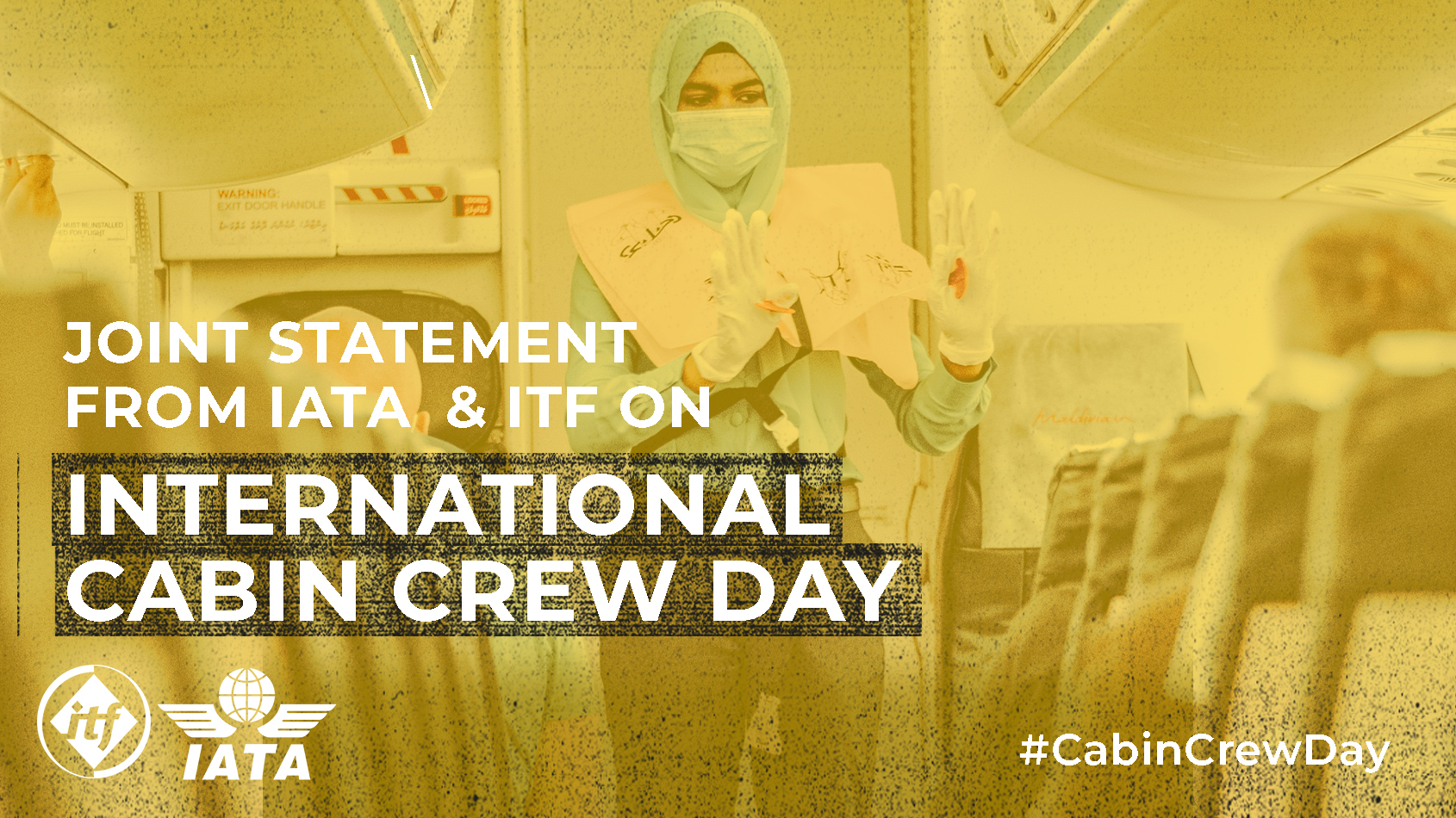 Joint statement from IATA and ITF on International Cabin Crew Day