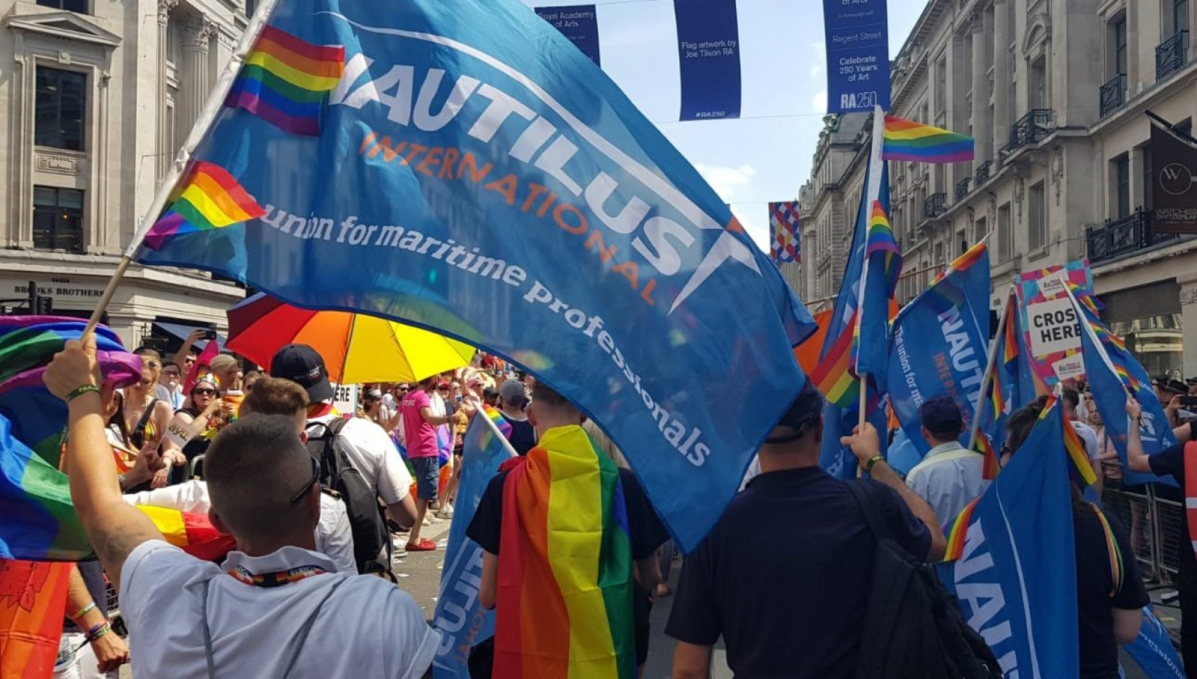 LGBT+ transport workers need solidarity, not 'rainbow capitalism'