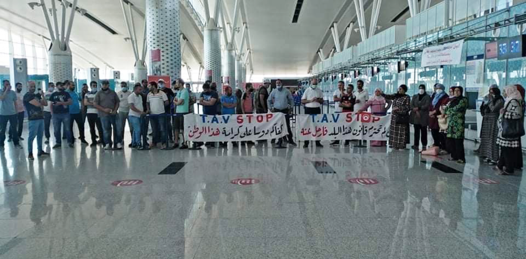 More than 100 airport workers reinstated in Tunisia as unions fight back