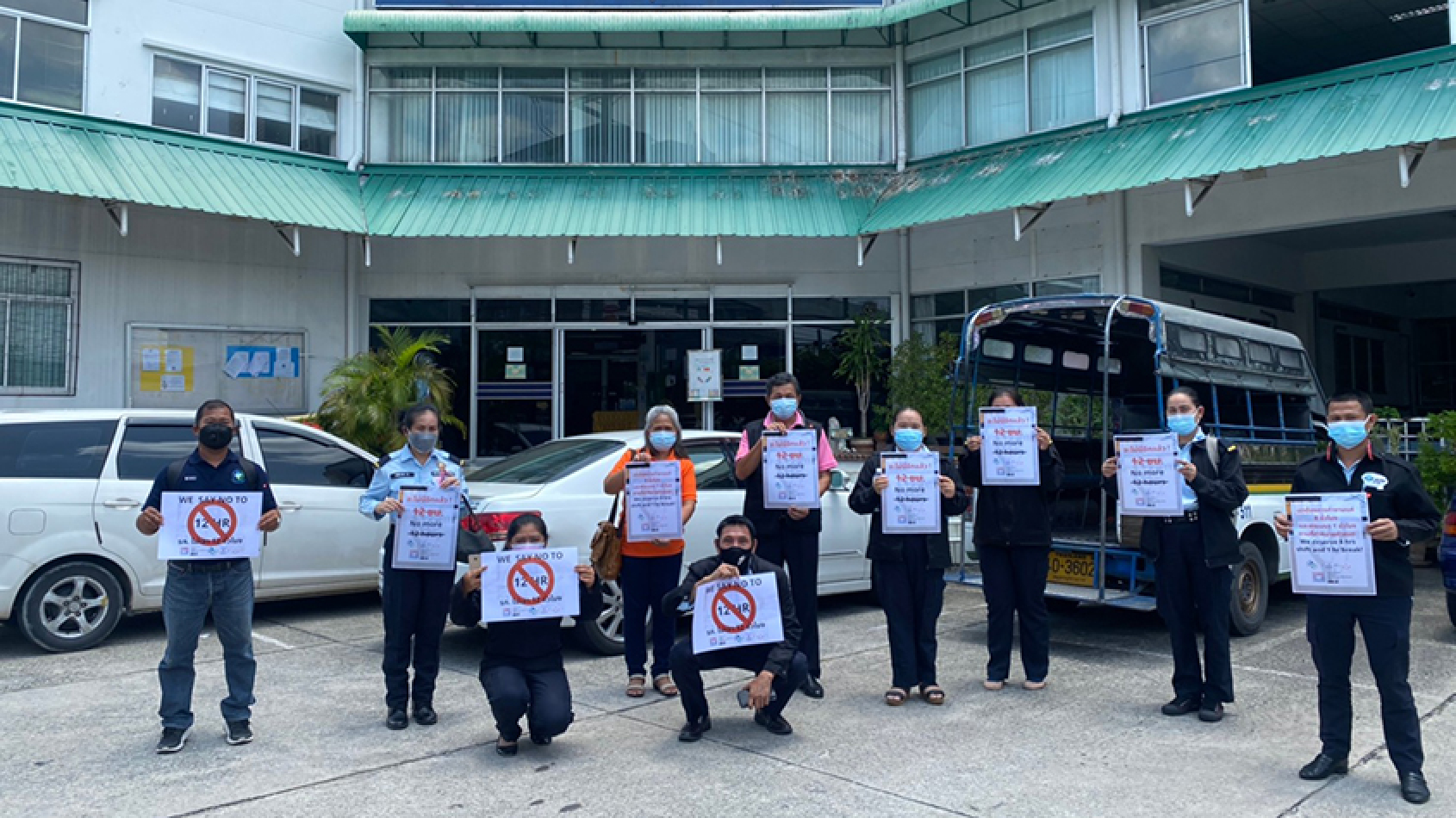 Thai airport security workers win back their basic working rights